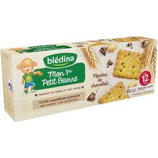 Blédina Mon 1er petit beurre pépites de chocolat dès 12 mois 133g