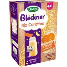 Blédine céréales en poudre riz légumes 12x12g dès 4/6 mois