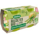 Blédina Blédina Petit pot haricots verts pommes de terre bio dès 4 mois 2x130g