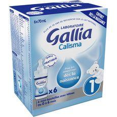 Gallia coffret naissance 6x70ml de 0 à 6 mois