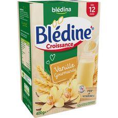 BLEDINA Blédina Blédine céréales à la vanille en poudre dès 12 mois 400g 400g