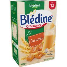 Blédina Blédine croissance céréales au caramel en poudre dès 12 mois 400g