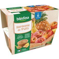 Blédina BLEDINA Petit pot dessert fruits du verger dès 6 mois