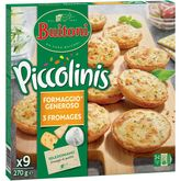 Buitoni piccolini 3 fromages x9 -270g