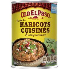 OLD EL PASO Purée de haricots cuisinés - doux 435g