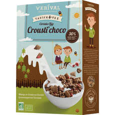 VERIVAL Céréales bio crousti-choco 400g