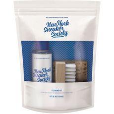 NEW YORK SNEAKER SOCIETY Kit de nettoyage pour baskets 3 produits 1 kit