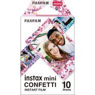 FUJIFILM Film Instax Mini 10 feuilles Confettis