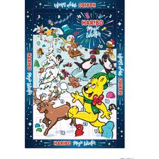 HARIBO Haribo calendrier de l'avent magic winter 300g