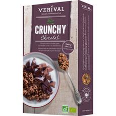 VERVIVAL Céréales bio crunchy au chocolat 375g