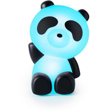 BIGBEN Enceinte portable Bluetooth lumineuse - Noir / blanc - Luminus Panda