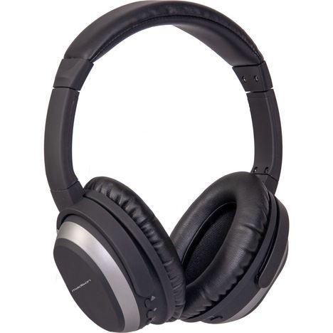 MADISON Casque audio bluetooth et filaire - Noir - MAD-HNB-150