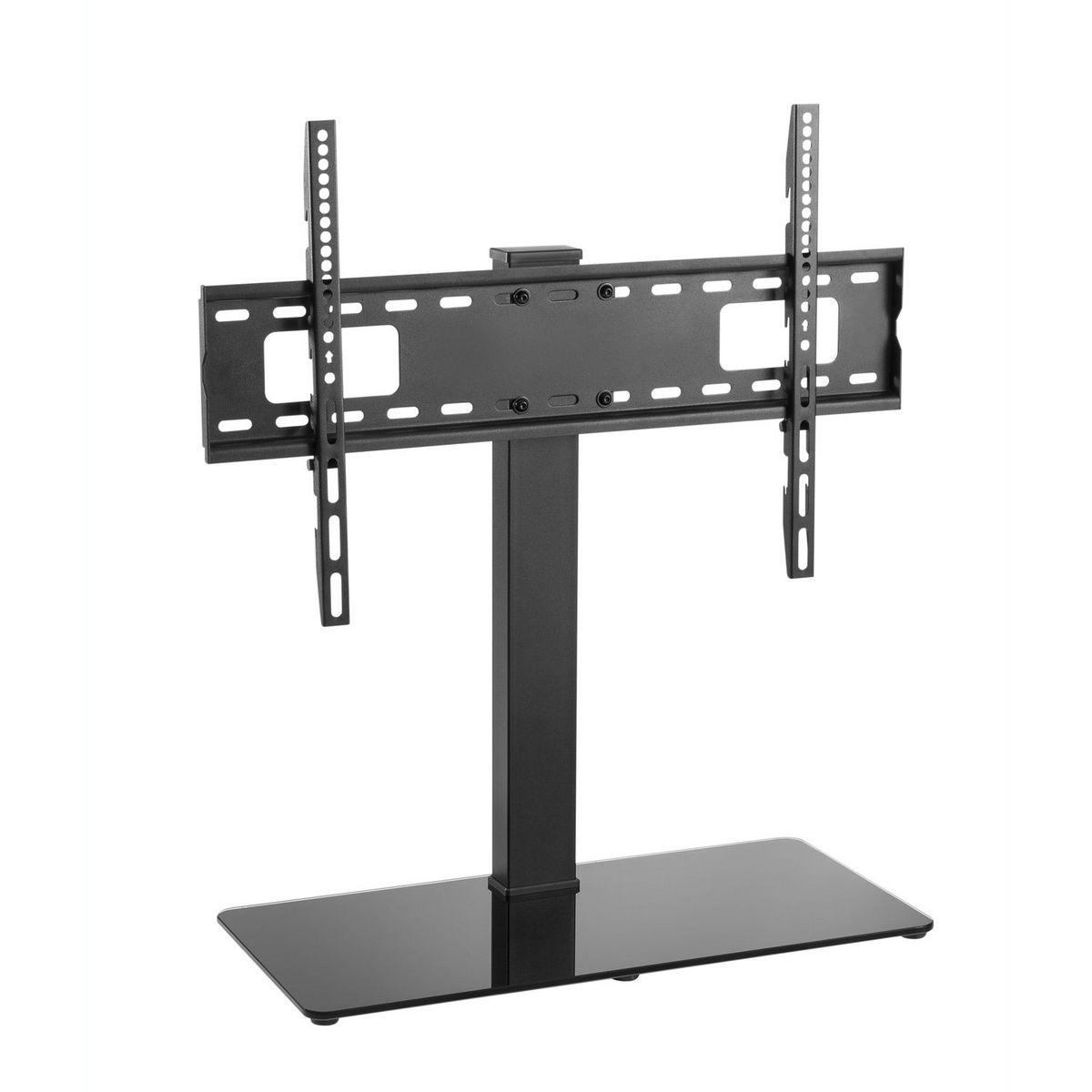 Pied de TV orientable à hauteur ajustable avec range-câble intégré SU-P70V 32 à 70 pouces - Noir
