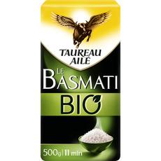 TAUREAU AILE Riz basmati bio 500g