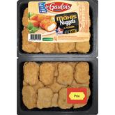 Le Gaulois nuggets de dinde barquette environ 50 -1kg