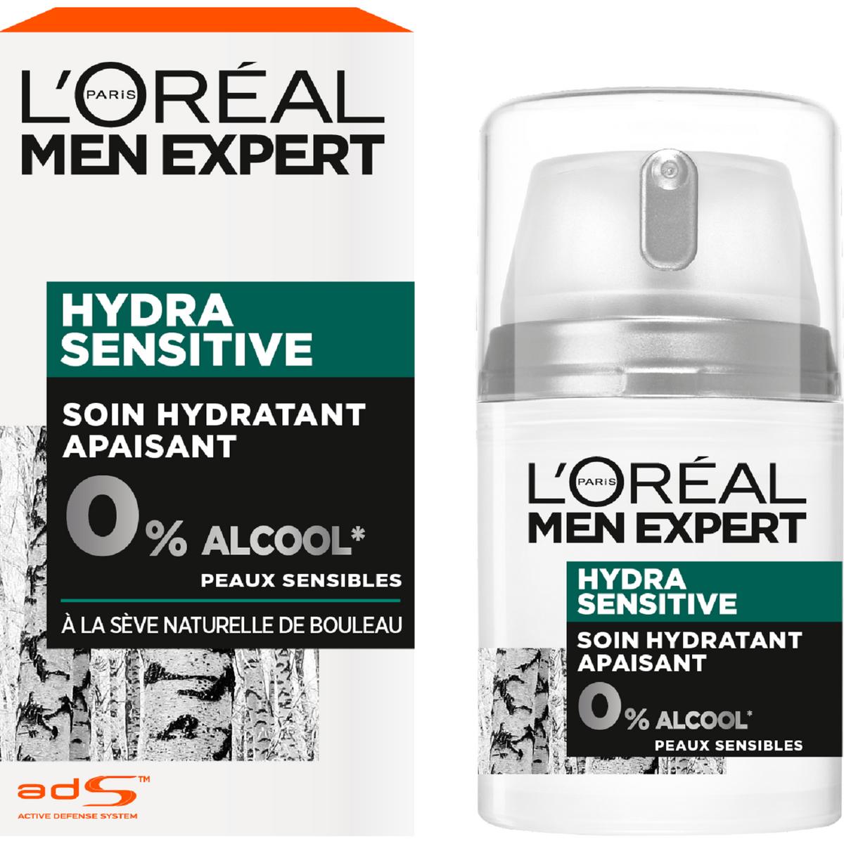 Men Expert Hydra Sensitive soin multi protecteur peaux sensibles