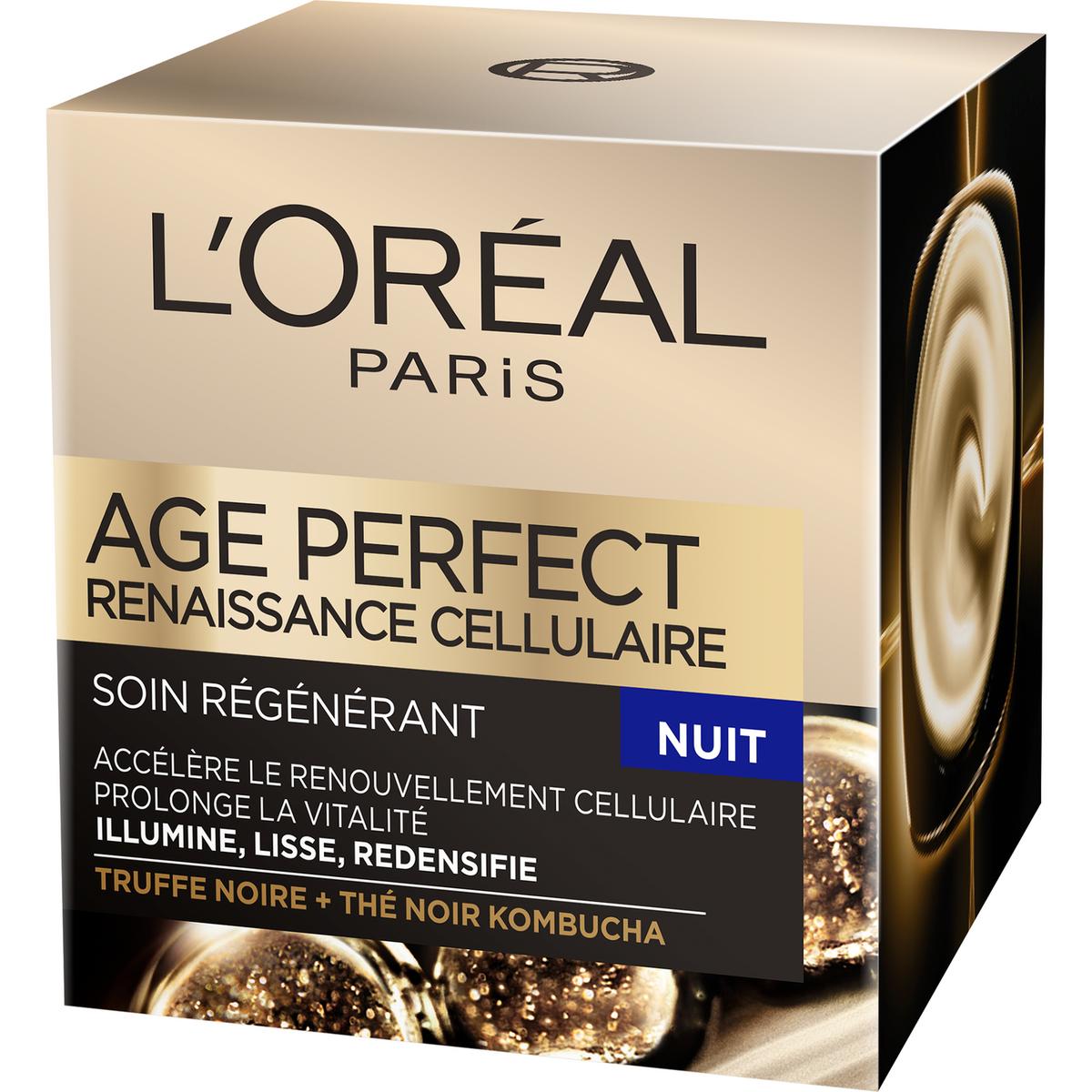 L'Oréal Age Perfect crème de nuit renaissance cellulaire 50ml