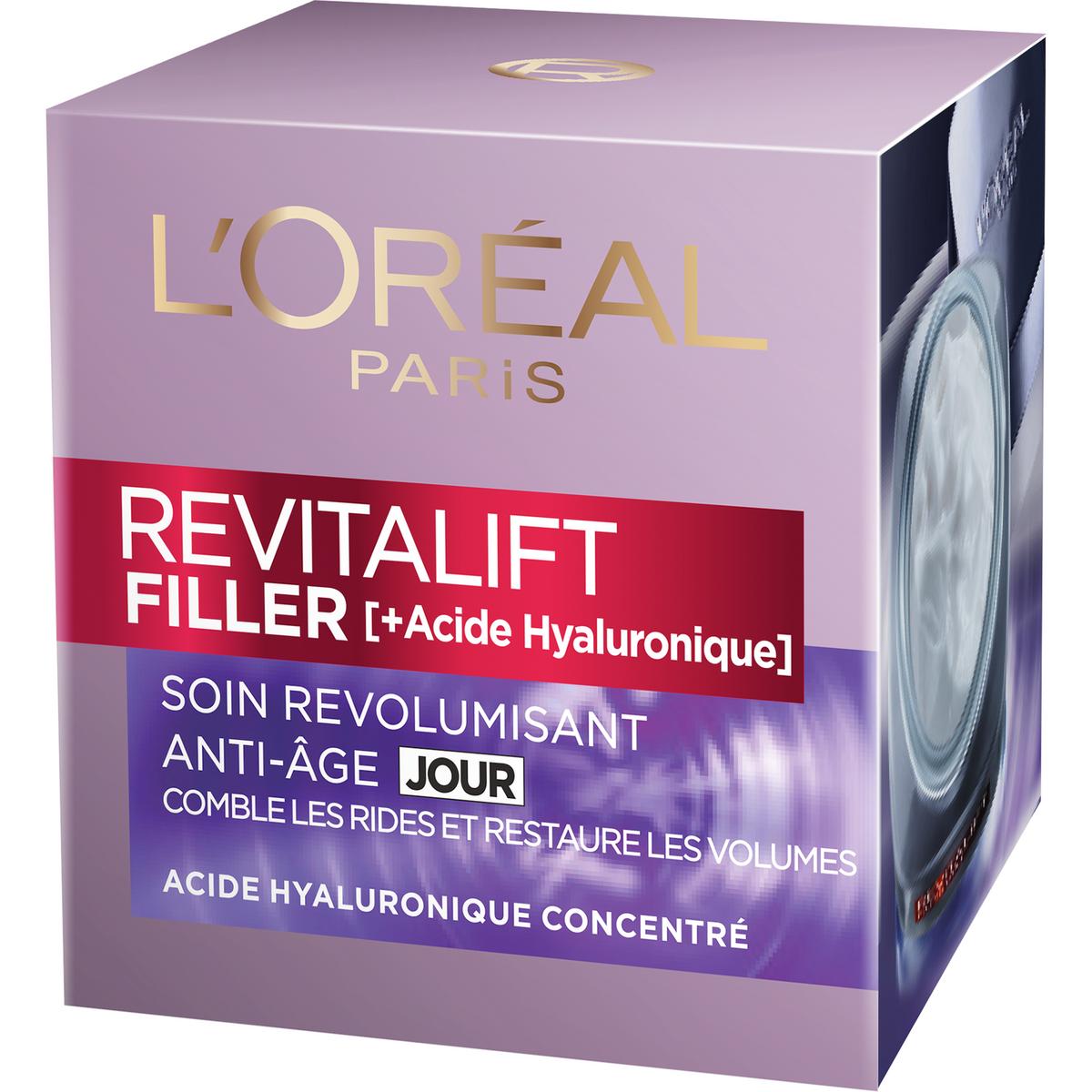 L'Oréal Revitalift soin de jour revolumisant anti-âge 50ml