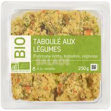 AUCHAN Le Traiteur taboulé aux légumes bio 250g
