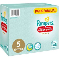 PAMPERS Premium protection pants couches-culottes taille 6 (+13kg) 68 couches