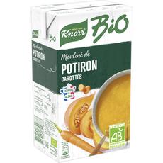 Knorr bio mouliné de potiron carotte 1l