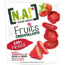 N.A fruits croustillants fraise 8g