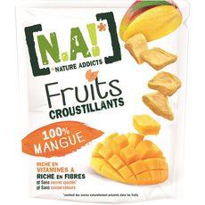 N.A fruits croustillants mangue 8g