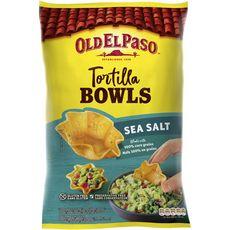 OLD EL PASO Tortilla bowls au sel de mer sans gluten sans conservateur 185g