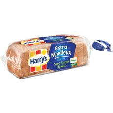 Harry's Pain de mie nature sans sucre ajouté sans huile de palme 500g
