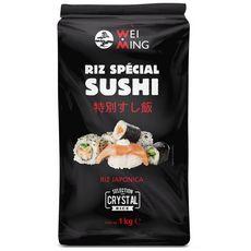 WEI MING Riz japonica spécial sushi 1kg