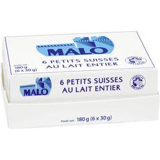 Malo petits suisses 40% x6
