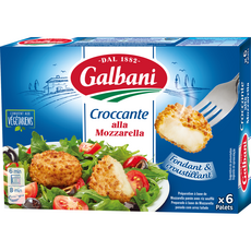 GALBANI Palets de mozzarella prêt à dorer 150g