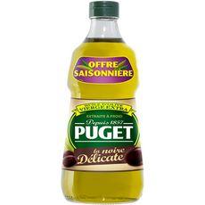 PRINCE Puget Huile d'olive vierge extra : la noire délicate 75cl 75cl