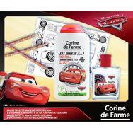Cars coffret eau de toilette +gel douche +crayon couleur