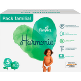 Pampers harmonie family pack x51 taille 5