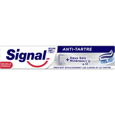 SIGNAL Dentifrice anti-tartre aux deux sels minéraux 75ml