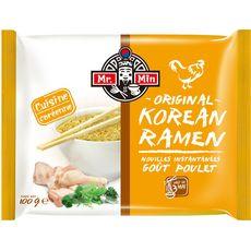 MR MIN Mr Min Nouilles instantanées coréennes poulet sachet 100g 100g