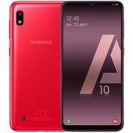 SAMSUNG Smartphone - GALAXY A10 - 32 Go - 6.2 pouces - Rouge - 4G - Double port nano SIM