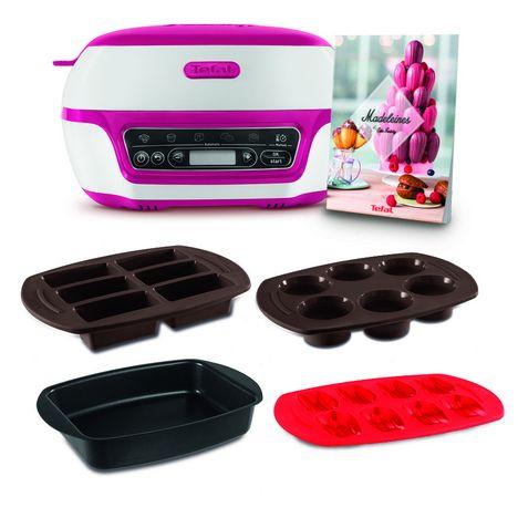 TEFAL Machine à gâteaux - Cake Factory KD801811