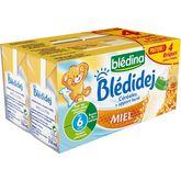Blédina Blédidej lait et céréales miel sans gluten 4x250ml dès 6mois