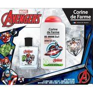 Avengers coffret eau de toilette +gel douche +porte clé