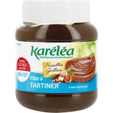 KARELEA Pâte à tartiner noisettes grillées sans sucres ajoutés 400g