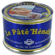 Henaff Henaff Pâté de porc avec filets et jambons ss colorant ni conservateur 260g