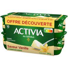Danone ACTIVIA Yaourt bifidus vanille