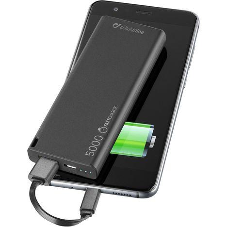 CELLULARLINE Batterie de secours - Noir