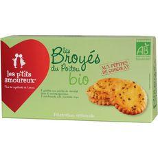 Les p'tits amoureux broyé pépites de chocolat bio 150g