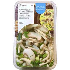 Bolettus mélange de champignons, oignons et ciboulette