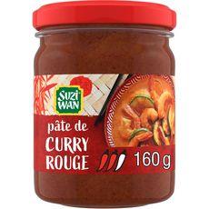 SUZI WAN Pâte de curry rouge 8 personnes 160g