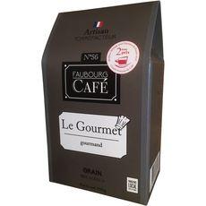 FAUBOURG CAFE Café en grains le gourmet 100% arabica 250g
