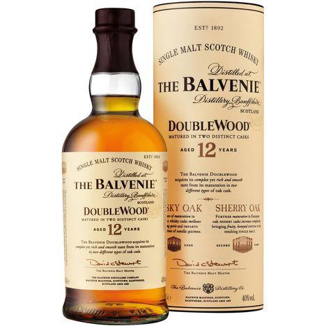 BALVENIE Scotch whisky single malt double wood 40%